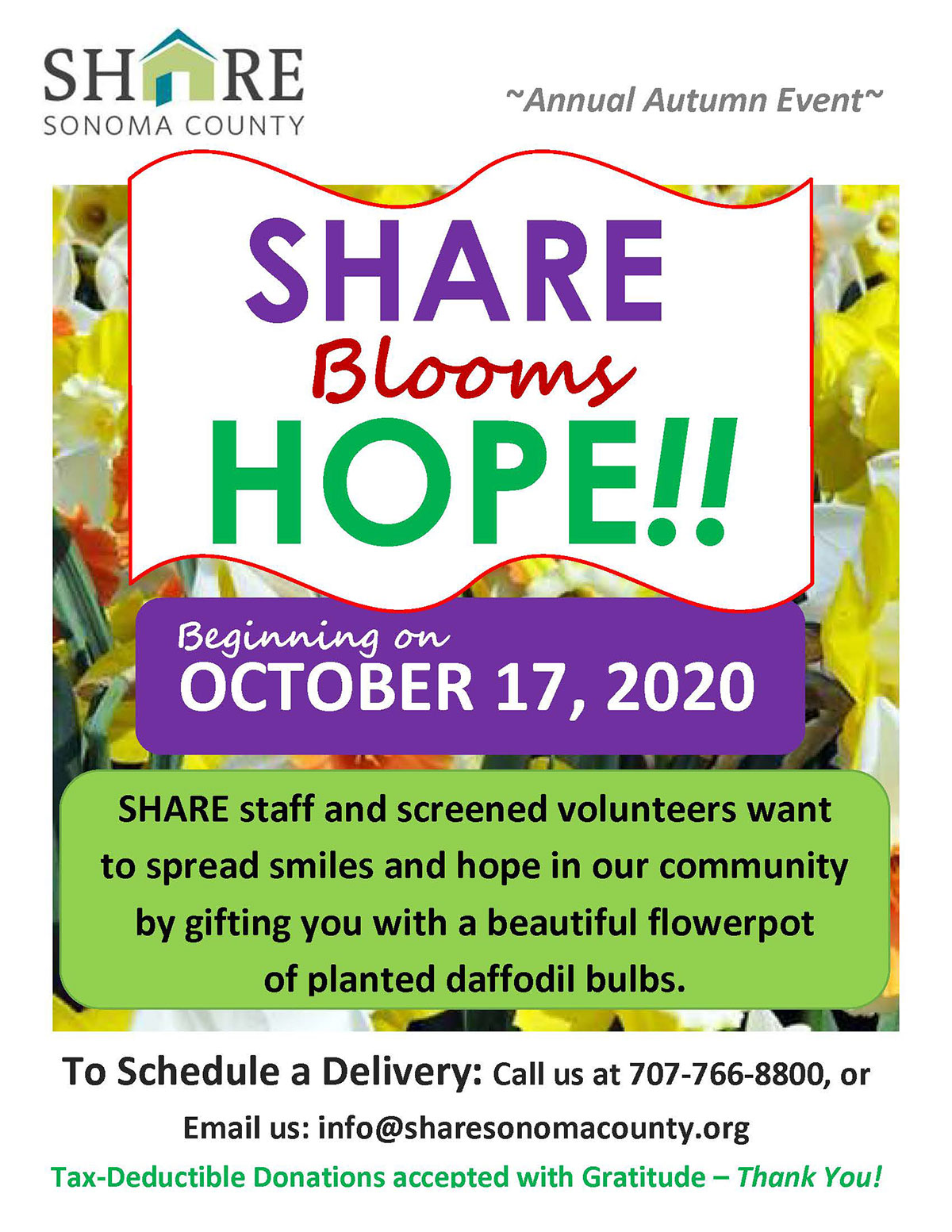 Share Blooms